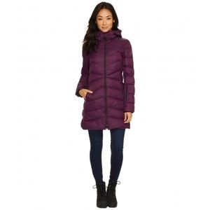 Adidas ClimaWarm Purple Down Feather Puffer Jacket